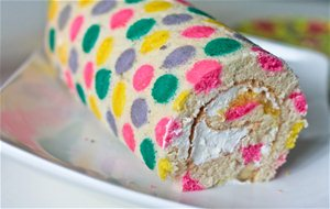 Receta Paso A Paso: Swiss Roll Decorado