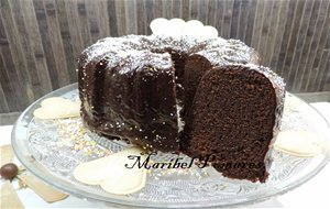 Bundt Cake De Chocolate.