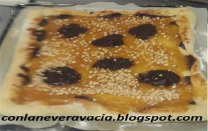 Pizza De Mermelada Y Chocolate