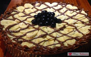 Tarta Banana Split