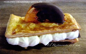 Hojaldres Con Naranja Y Chocolate