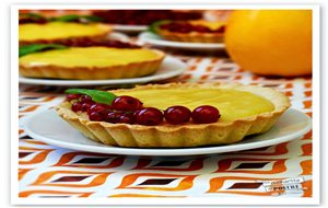 Tartaletas De Naranja Y Grosellas / Orange And Redcurrant Tartlets