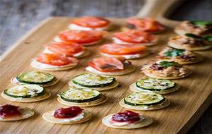 Recetas de cocina de canapes for Canapes faciles y economicos