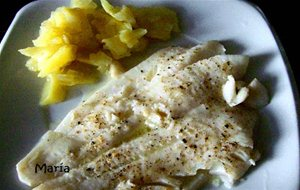 Filetes De Fletan O Halibut Al Microondas