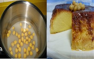 Flan De Garbanzos