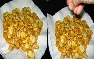 Habas fritas - Como se preparan las habas ...