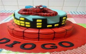 Una Tarta De Spiderman