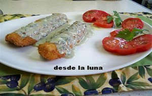 Filetes De Gallo Al Roquefort