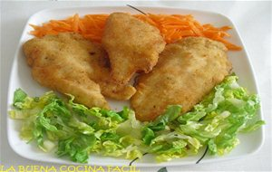 Filetes De Pollo Empanados Al Limon