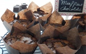 Muffins De Chocolate En Estado Puro!!!!!