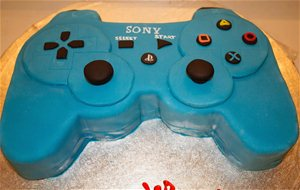 Tarta Fondant Mando Play Station 3