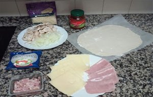 Pizza Enrollada