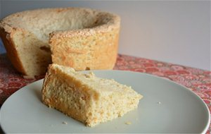 Angel Food Cake De Calabaza