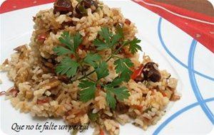 Arroz Agridulce Con Frutos Secos