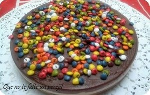 Tarta De Tres Chocolates Con Lacasitos