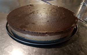 Tarta De Queso Y Chocolate En Thermomix