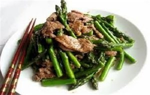 Bo Xao Mang, Beef With Bamboo And Oyster Sauce