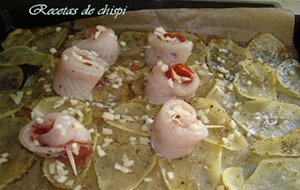 Rollitos De Gallo Al Horno