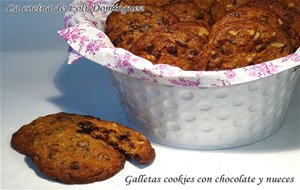 Galletas Cookies Con Chocolate Y Nueces