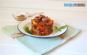 Tartar De Tomates De Colores Con Anchoas {color Y Sabor}