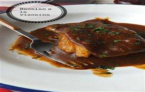 salsa vizcaína receta