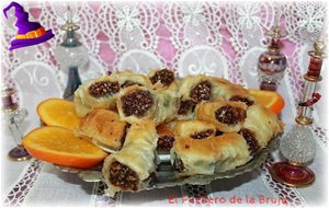 Baklava De Frutos Secos, Chocolate Y Naranja
