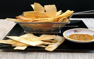 Chips De Yuca Con Sal Y Curry