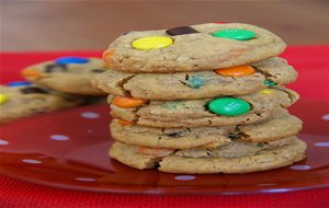 Monster Cookies, Con M&ms Y Chips De Chocolate