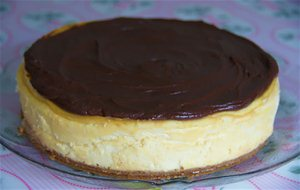 Cheesecake De Baileys Y Chocolate