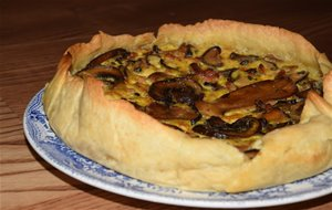Quiche De Bacon Y Setas