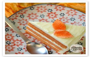 Tarta De Calabaza Y Pomelo / Grapefruit And Pumpkin Layer Cake