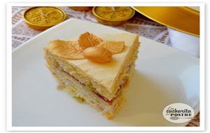 Navidad 2015 (iii): Tarta De Cava Y Uvas / Christmas 2015 (iii): Grape And Champagne Layer Cake
