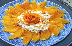 Naranja Con Nata/ Orange And Cream