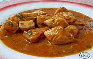 Pollo Con Curry Y Leche De Coco
