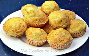 Muffins De Jamon York Y Queso