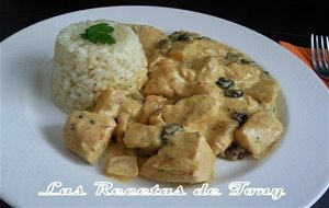 Pollo Al Curry Estilo Madras