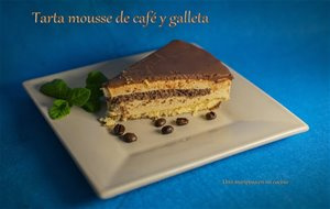 Tarta Mousse De Cafe Y Galleta