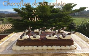 Chocoflan De  Chocolate Y Cafe
