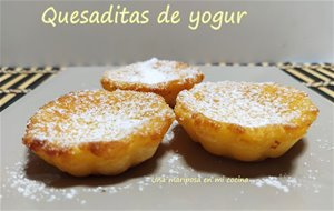 Mini Quesadas De Yogur
