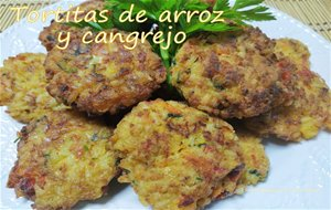 Tortitas De Arroz Y Cangrejo