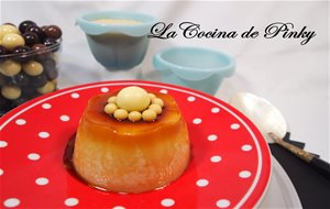 Flan De Chocolate Blanco Ligero