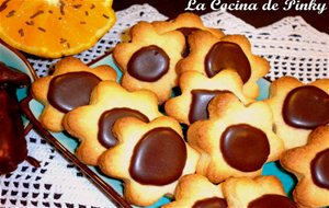 Galletas De Mantequilla Y Chocolate