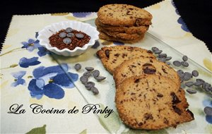 Galletas De Rooibos Y Chocolate
