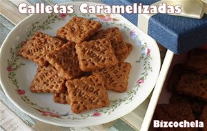 Galletas Caramelizadas Tipo Lotus