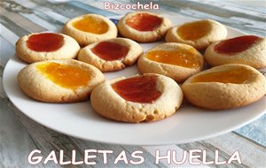 Galletas Huella Con Mermelada : Thumbprint Cookies