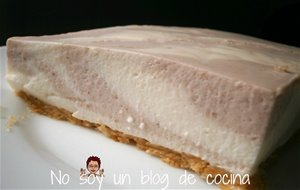 Tarta De Yogurt Y Frutos Rojos