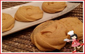* Galletas-rosas De Calabaza (thermomix)