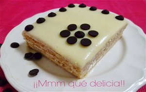 Tarta De Galletas Y Chocolate Blanco