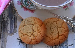 Galletas De Chocolate Blanco Y Coco