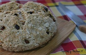 Pan Soda Con Pasas (irish Soda Bread)